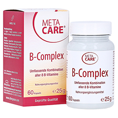 META CARE B-Complex Kapseln 60 Stück
