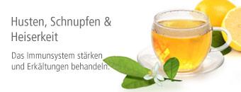 Husten, Schnupfen & Heiserkeit