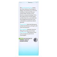 LAVERA basis Feuchtigkeitscreme dt 50 Milliliter - Rückseite