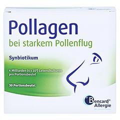 POLLAGEN Synbiotikum m.Probiotika u.Prebiot.Beutel 30 Stück - Vorderseite