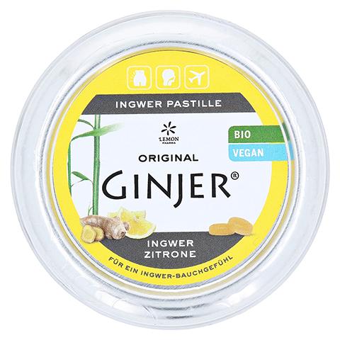 INGWER GINJER Pastillen Bio Zitrone 40 Gramm
