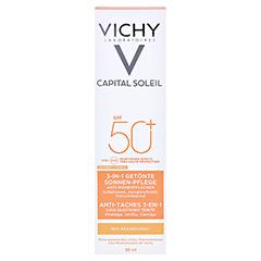 Vichy Ideal Soleil Anti-Pigmentflecken Sonnenpflege für das Gesicht LSF 50+ + gratis VICHY Idéal Soleil SPF 50 - 100 ml 50 Milliliter - Vorderseite