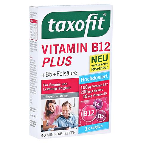 TAXOFIT Vitamin B12 Plus Tabletten 40 Stück