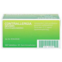 CONTRALLERGIA Hevert Heuschnupfentabletten 100 Stück N2 - Unterseite
