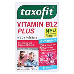 TAXOFIT Vitamin B12 Plus Tabletten 40 Stück - Vorderseite