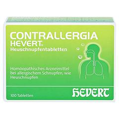 CONTRALLERGIA Hevert Heuschnupfentabletten 100 Stück N2 - Vorderseite