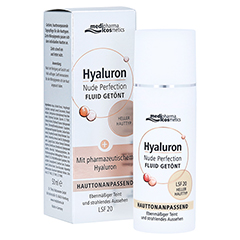 HYALURON NUDE Perfect.Fluid getönt s.hel HT LSF 20 50 ml