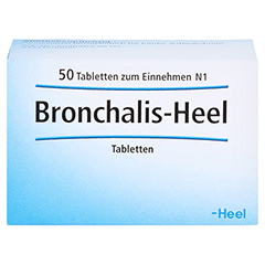 BRONCHALIS Heel Tabletten 50 Stück N1 - Vorderseite