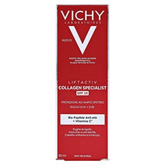 Vichy Liftactiv Collagen Specialist Anti-Age Tagespflege LSF 25 50 Milliliter - Rückseite