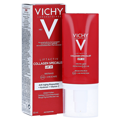 Vichy Liftactiv Collagen Specialist Anti-Age Tagespflege LSF 25 50 Milliliter