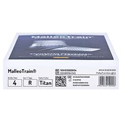 MALLEOTRAIN Sprunggelenkb.rechts Gr.4 titan 1 Stück - Unterseite