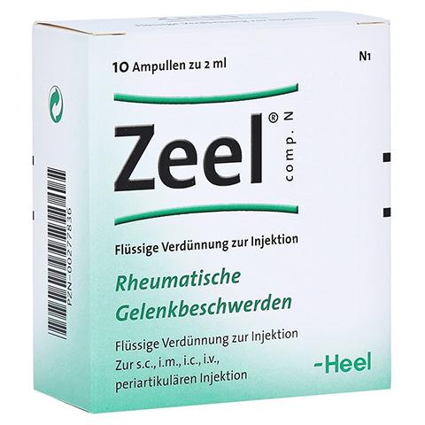 ZEEL comp.N Ampullen 10 Stück N1