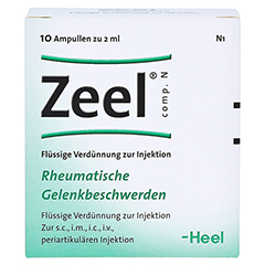 ZEEL comp.N Ampullen 10 Stück N1 - Vorderseite