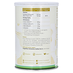 FOR YOU BCAA+glutamin Energy & Recovery Apfel Plv. 480 Gramm - Rechte Seite