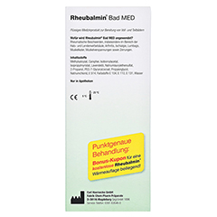 Rheubalmin Bad MED 320 Milliliter - Linke Seite