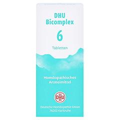 DHU Bicomplex 6 Tabletten 150 Stück N1 - Vorderseite