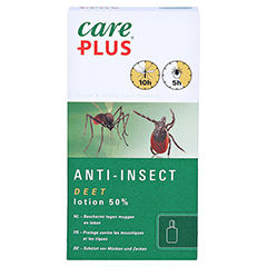 CARE PLUS Deet Anti Insect Lotion 50% 50 Milliliter - Vorderseite