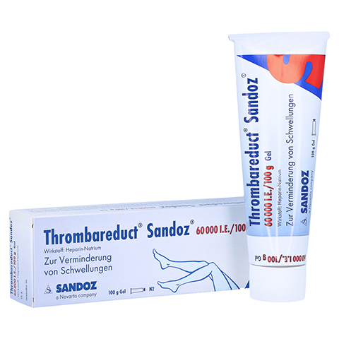 Thrombareduct Sandoz 60000I.E./100g 100 Gramm N2