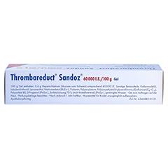 Thrombareduct Sandoz 60000I.E./100g 100 Gramm N2 - Oberseite