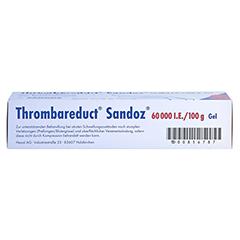 Thrombareduct Sandoz 60000I.E./100g 100 Gramm N2 - Unterseite