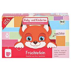 H&S Bio Baby- u.Kindertee Früchtefein Filterbeutel 20x2.5 Gramm - Vorderseite