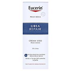 Eucerin Urearepair Gesichtscreme 5% Tag 50 Milliliter - Rückseite