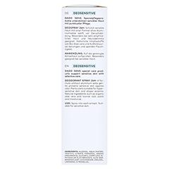 DADO DeoSensitive Deospray 24h 75 Milliliter - Rechte Seite