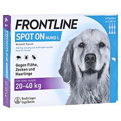 FRONTLINE Spot on H 40 Lösung f.Hunde 6 Stück