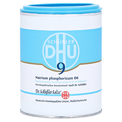 BIOCHEMIE DHU 9 Natrium phosphoricum D 6 Tabletten 1000 Stück