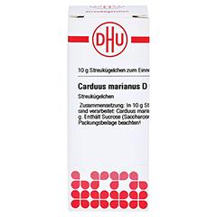 CARDUUS MARIANUS D 6 Globuli 10 Gramm N1 - Vorderseite