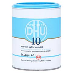 BIOCHEMIE DHU 10 Natrium sulfuricum D 6 Tabletten 1000 Stück