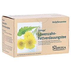 Sidroga Löwenzahn-Fettverdauungstee 20x1.5 Gramm