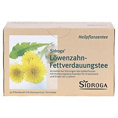 SIDROGA Löwenzahn-Fettverdauungstee 20x1.5 Gramm - Vorderseite
