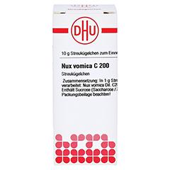 NUX VOMICA C 200 Globuli 10 Gramm N1 - Vorderseite
