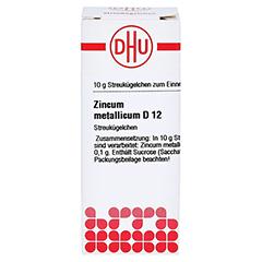 ZINCUM METALLICUM D 12 Globuli 10 Gramm N1 - Vorderseite