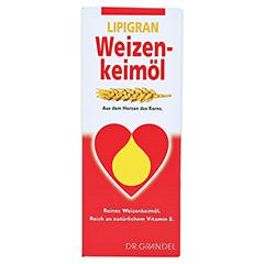 Weizenkeimöl Lipigran Grandel 250 Milliliter - Vorderseite