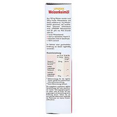 Weizenkeimöl Lipigran Grandel 250 Milliliter - Linke Seite