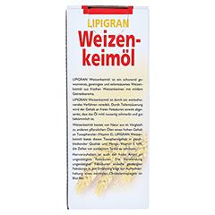 Weizenkeimöl Lipigran Grandel 250 Milliliter - Rückseite