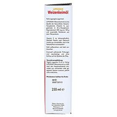 Weizenkeimöl Lipigran Grandel 250 Milliliter - Rechte Seite