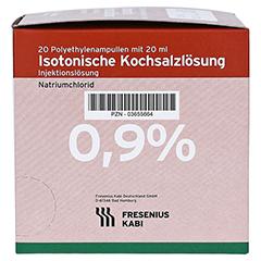 KOCHSALZLÖSUNG 0,9% Plastikamp.Fresenius 20x20 Milliliter N3 - Rechte Seite