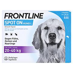 FRONTLINE Spot on H 40 Lösung f.Hunde 3 Stück - Vorderseite