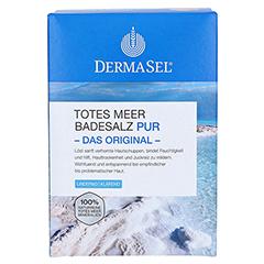 Dermasel Totes Meer Badesalz Pur 1.5 Kilogramm - Vorderseite