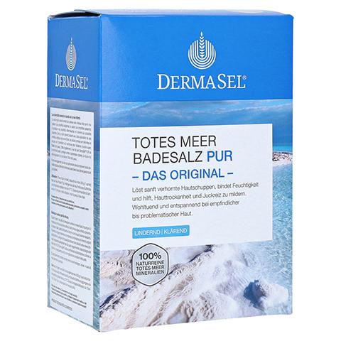 Dermasel Totes Meer Badesalz Pur 1.5 Kilogramm