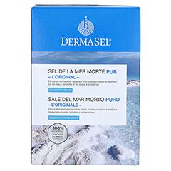 Dermasel Totes Meer Badesalz Pur 1.5 Kilogramm - Rückseite