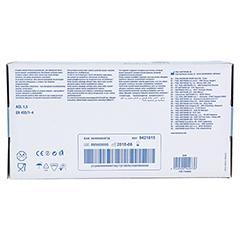 Peha-soft Latex Einmal-Untersuchnungshandschuhe unsteril Puderfrei 100 Stück - Unterseite