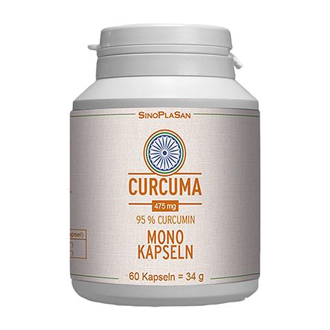 CURCUMA 475 mg 95% Curcumin Mono-Kapseln 60 Stück
