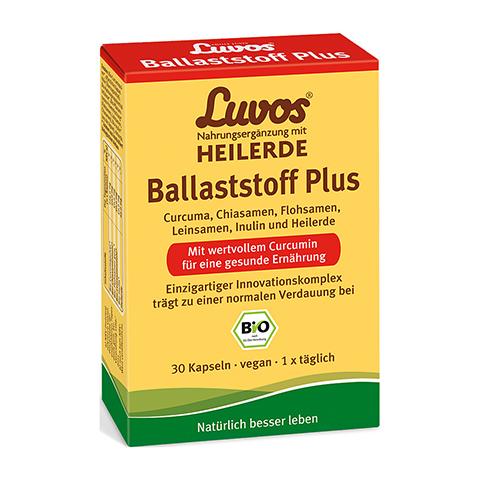 LUVOS Heilerde Bio Ballaststoff Plus Kapseln 30 Stück