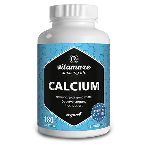 CALCIUM 400 mg vegan Tabletten 180 Stück