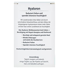 HYALURON Wirkkonzentrat Anti-Falten+Beruhigung 13 Milliliter - R�ckseite