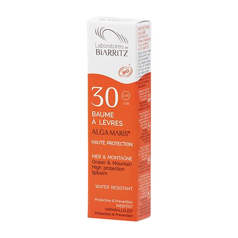 ALGA MARIS Lippenbalsam Sonnenschutz Bio LSF 30 15 Milliliter